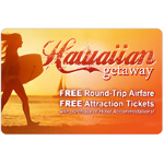 $139 for 2 Roundtrip Flights to Hawaii + Attraction Tickets! ($1,200 Value)