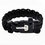 Paracord with Firestarter, Emergency Whistle, & Saw - $11 with FREE Shipping!